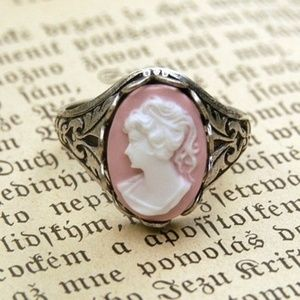 Jewelry - Vintage style Virgin Mary Portrait Ring